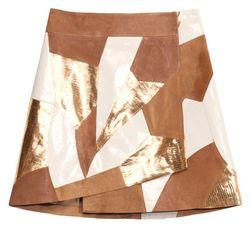 Leather skirt, $295
