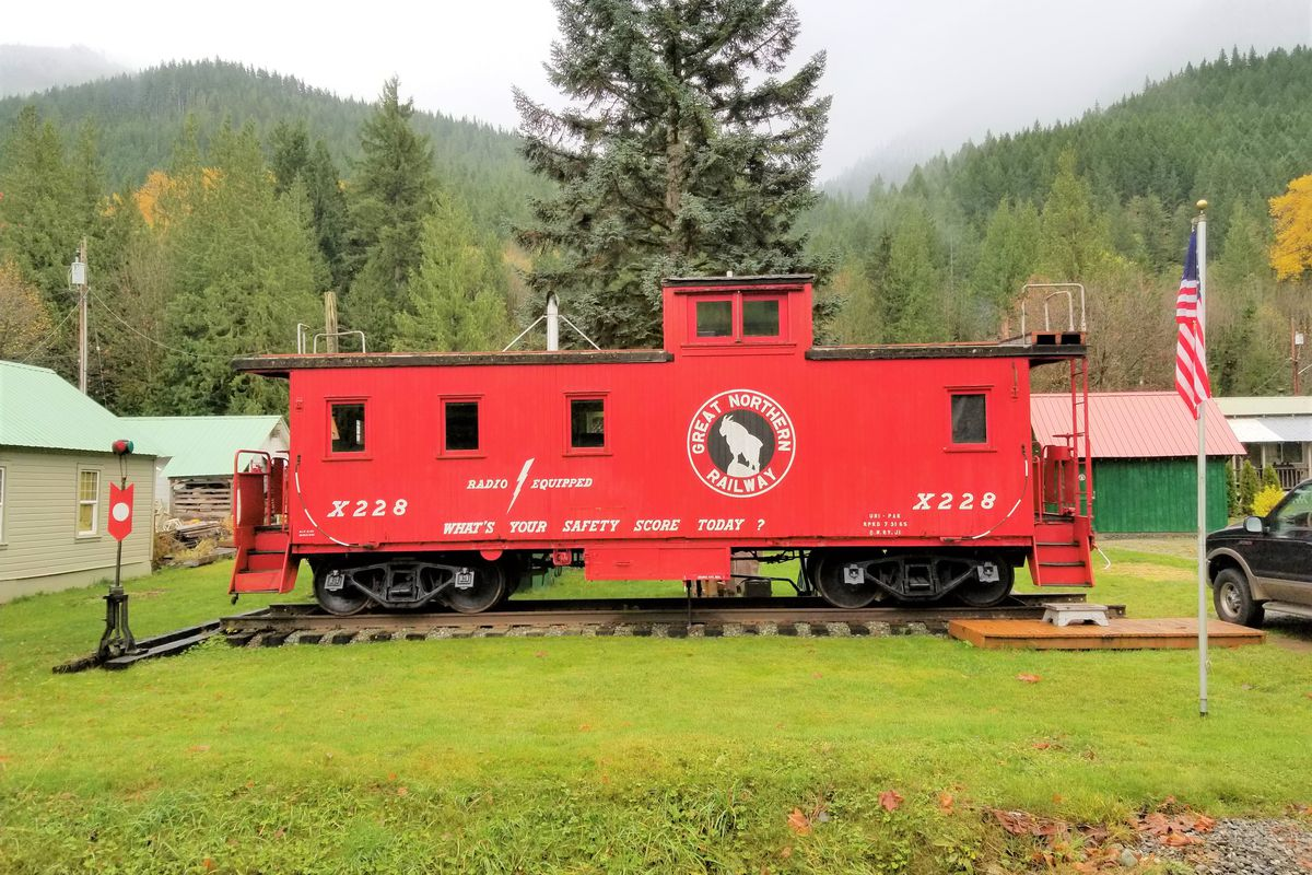 Craigslist Washington D.c >> Spirit of Skykomish is a 1942 residential caboose - Curbed Seattle