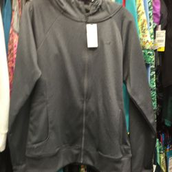 Under Armour zip-up sweatshirt, size large, $31.96 (from $64.95)