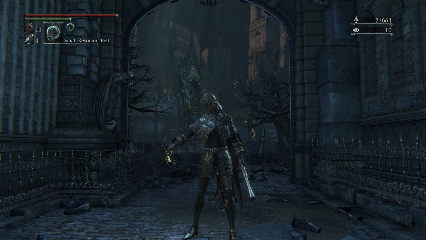 Disponibile la patch 1.03 di Bloodborne.