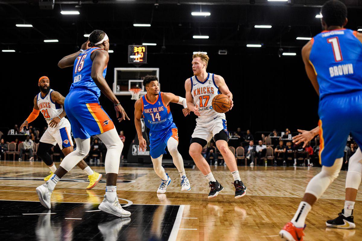 Westchester Knicks v Oklahoma City Blue
