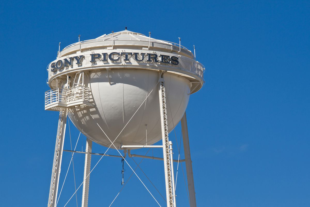 The water tower on the Sony Pictures Entertainment lot.