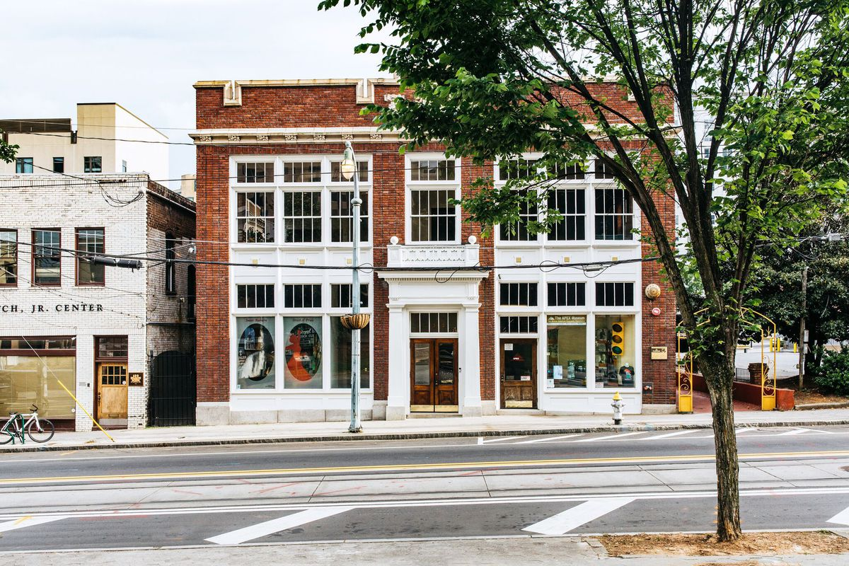 A photo of the Auburn Avenue building that Constellations will inhabit.