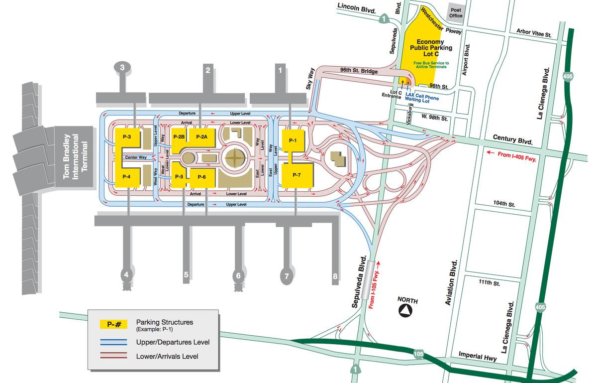 Lax A Quick Guide To La S Airport Curbed La