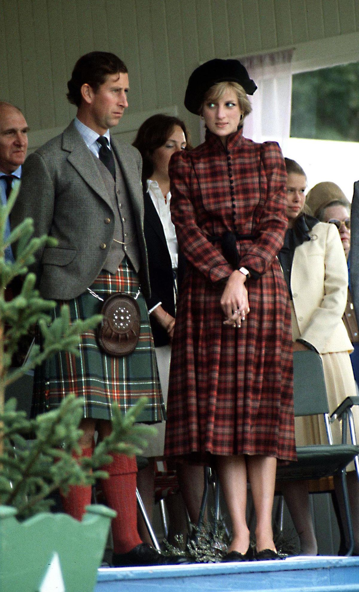 bec0e738482 Princess Diana at the Braemar Highland Games in Scotland in September 1981.  Terry Fincher Princess Diana Archive Getty Images