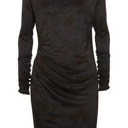 """<a href=""""http://www.theoutnet.com/am/productdetails.chic?pid=264893&page=ProductPage"""">Felder Felder Sasa draped jersey dress</a>, $59 (was $295)"""