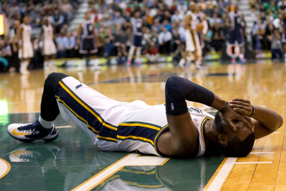Al had trouble sleeping not knowing what will happen with the Jazz