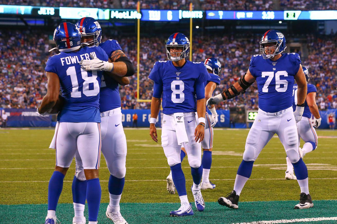 NFL: AUG 08 Preseason - Jets at Giants