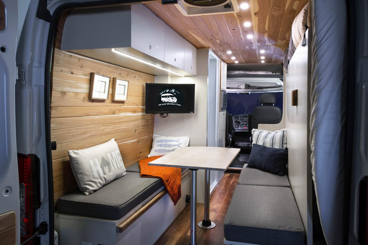 Ford Transit Rvs >> The 5 best RVs and camper vans you can buy right now - Curbed
