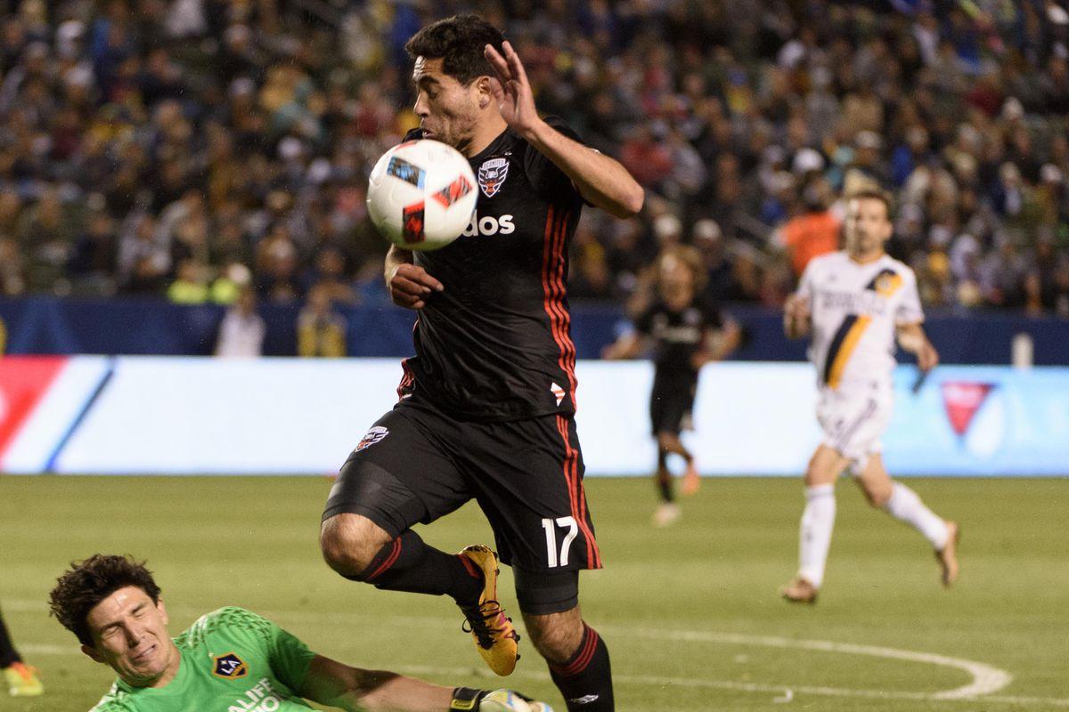 MLS: D.C. United at LA Galaxy