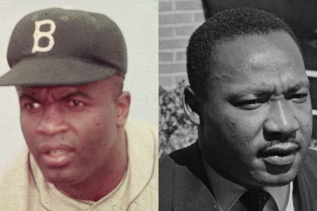 Jackie Robinson, Martin Luther King Jr.