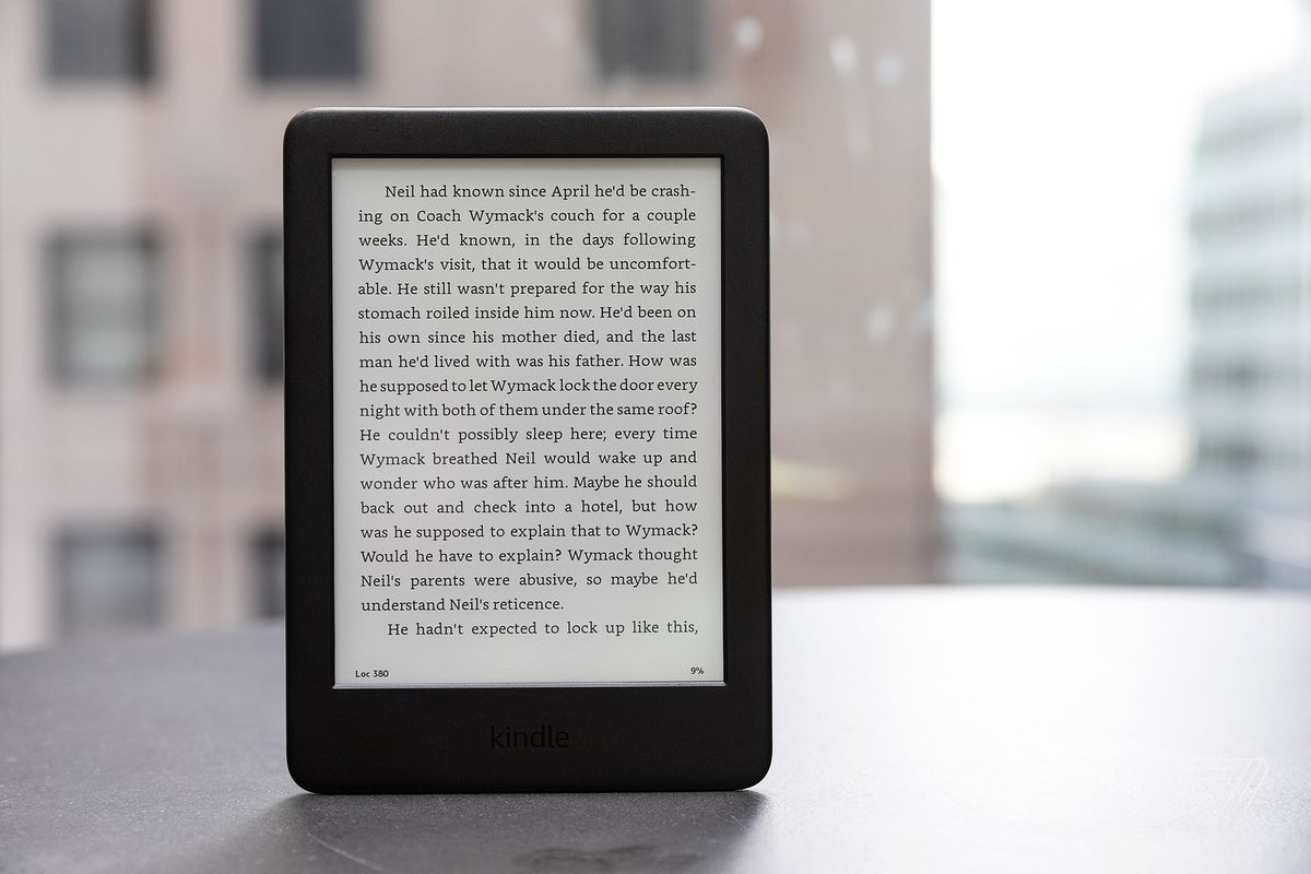 07f17533a32911 A light can't save Amazon's base-model Kindle from its low-resolution screen