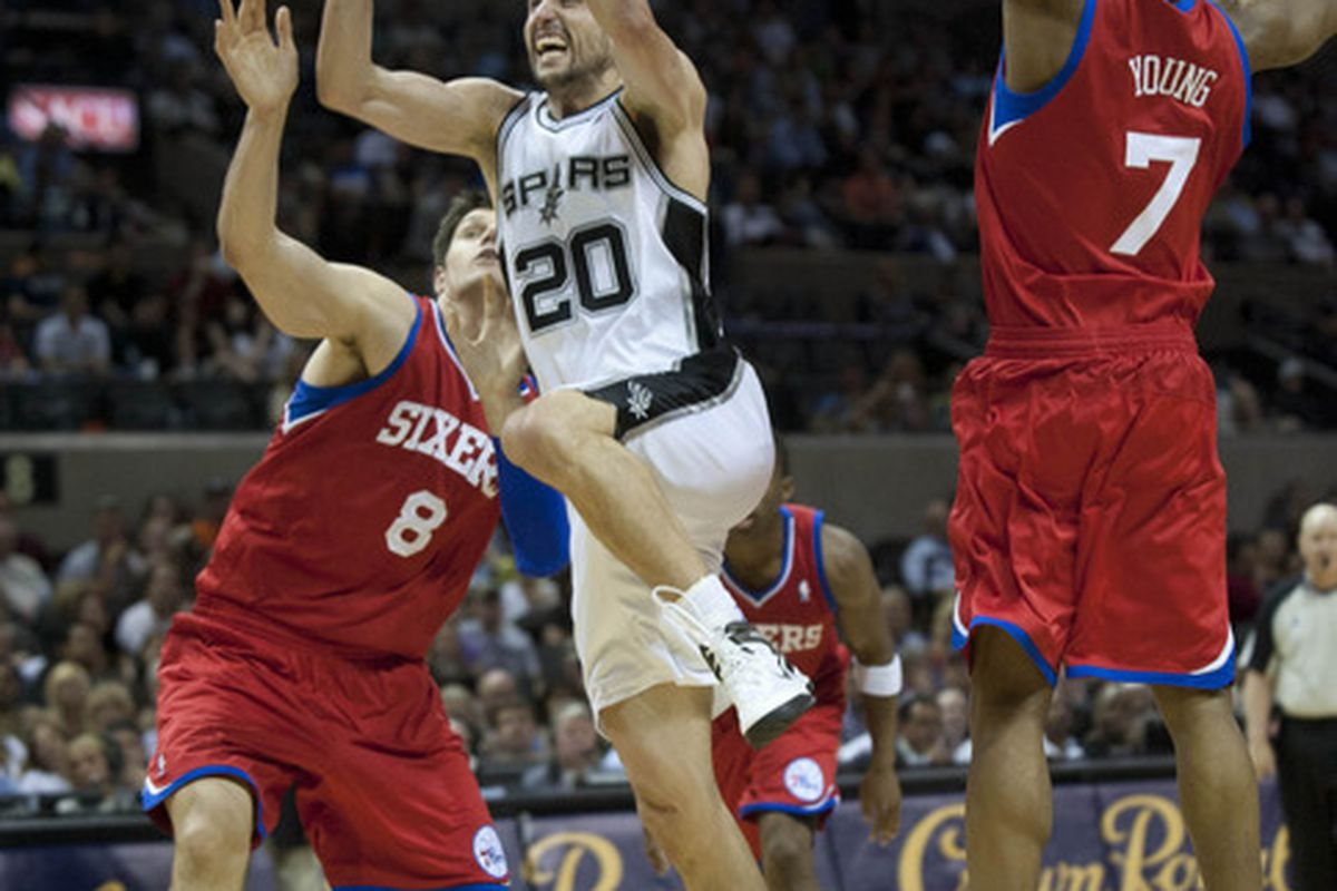 Sam Young played a bit in the regular season, but can't get on the court in the playoffs (Brendan Maloney-US PRESSWIRE)