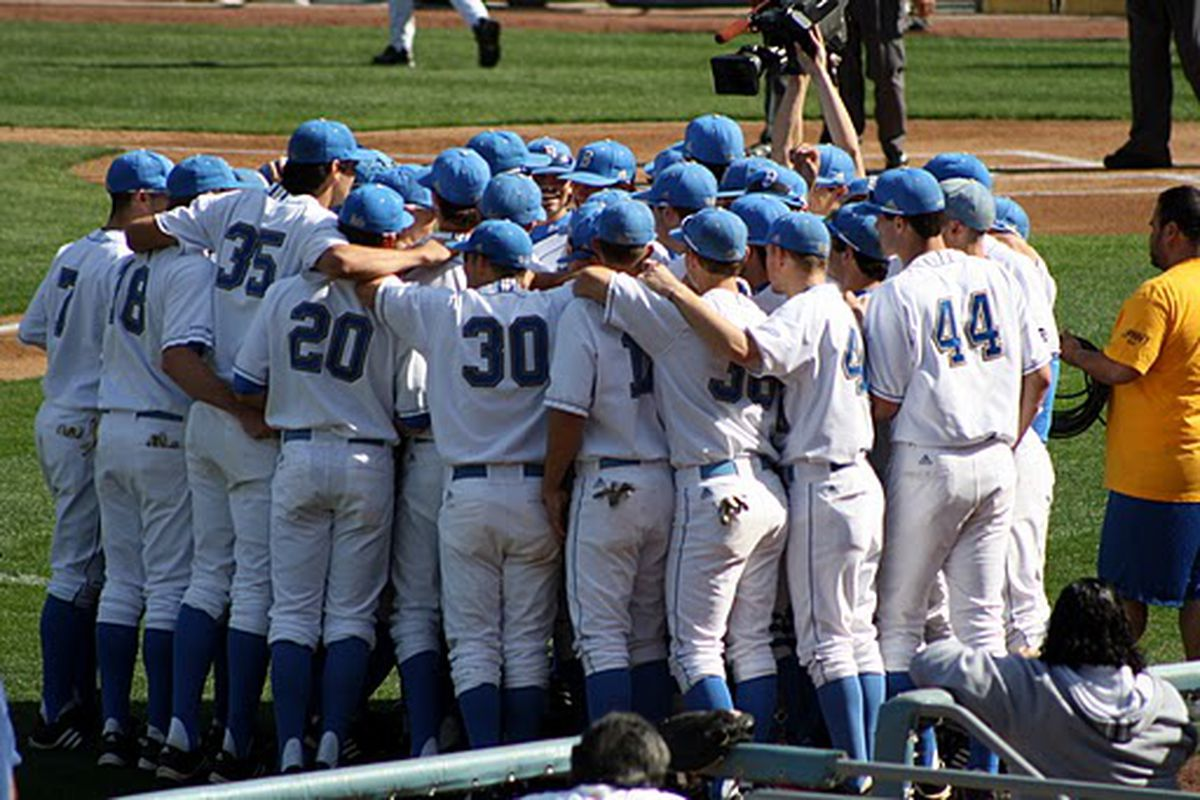 It's time for UCLA baseball to regroup, but it's time for us to reasses (Photo Credit: Art)