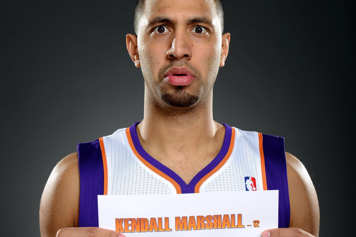 Cut after 1 game? Yup. That's how I roll, Kendall Marshall...
