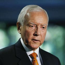 Anyone doubting the mark Utah's congressional delegation is making in Congress had only to spend a few minutes at a reception Tuesday held for Sen. Orrin Hatch after he was sworn in as the Senate's new president pro tempore.