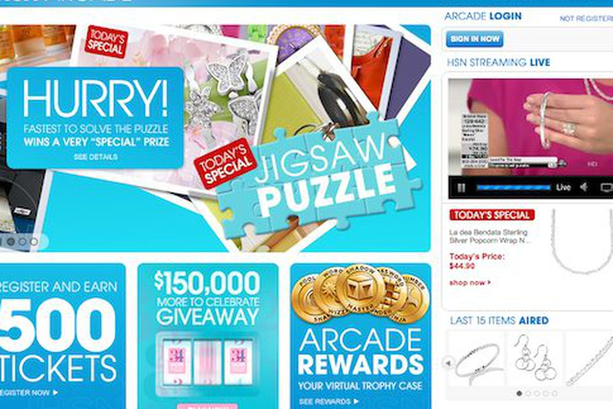Random Thing We Love: Win Real Prizes With HSN's Arcade ...