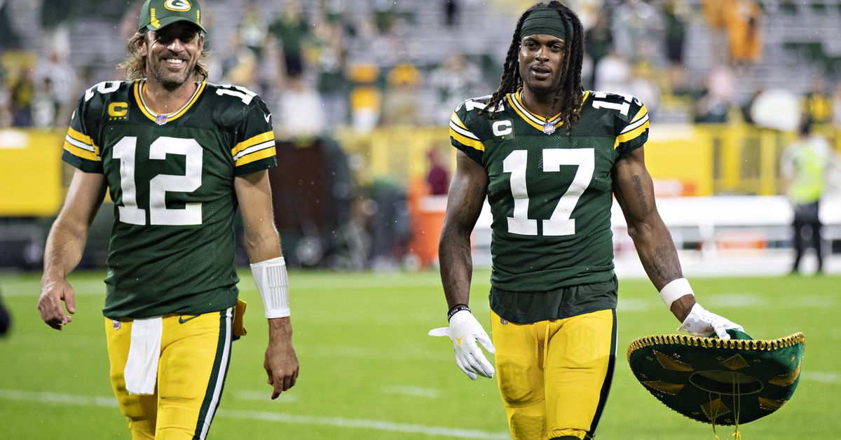 Updated MVP odds: Aaron Rodgers and Davante Adams ranked in the top-10