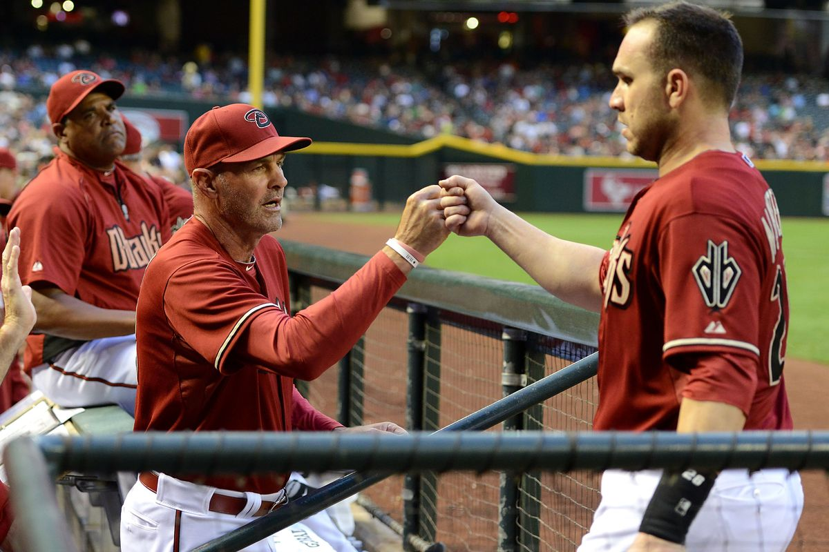 """Let's try one of those fancy """"handshakes"""" the kids are always doing Miggy"""