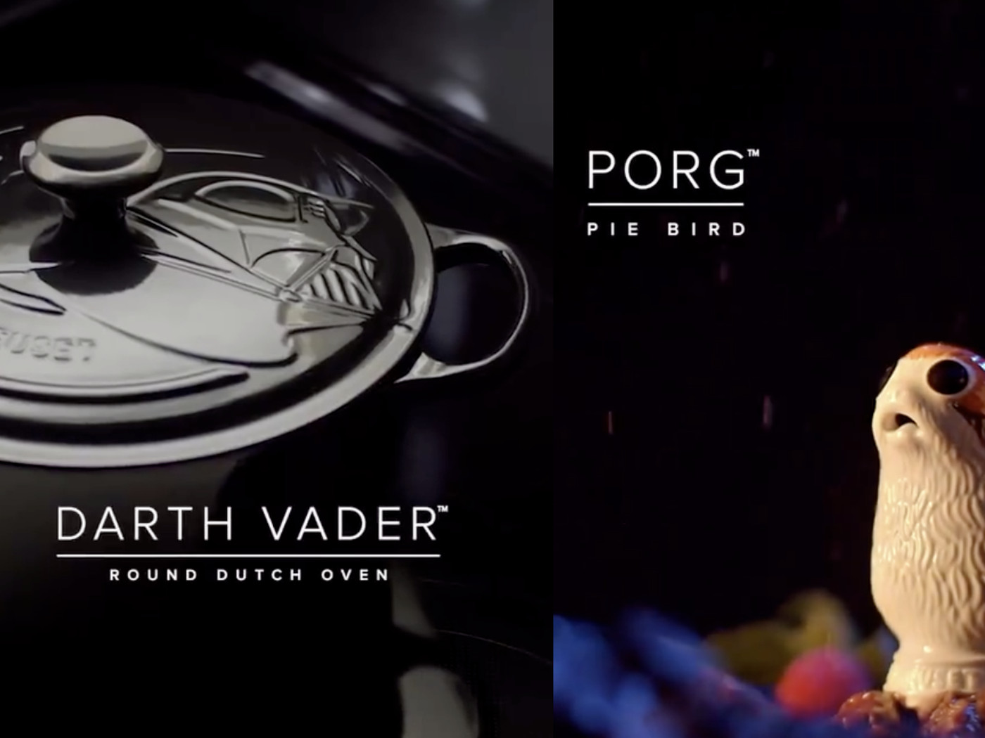 The Star Wars X Le Creuset Collection Features Darth Vader Dutch