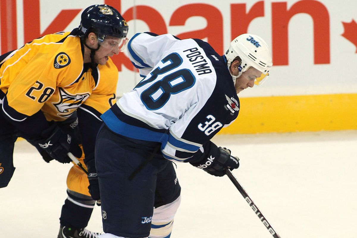 Paul Postma will start on the third defensive pairing on Saturday afternoon