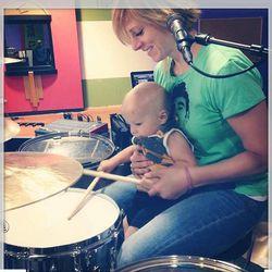 Elaine Bradley and her son Bryce.