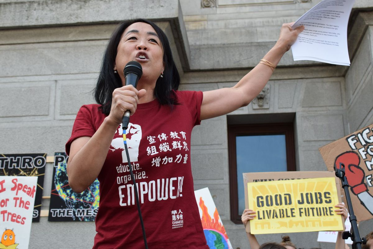 Philadelphia City Councilwoman-at-large Helen Gym worked on the federal civil rights case to stop the harassment of Asian American students following the 2009 assaults at South Philadelphia High School.