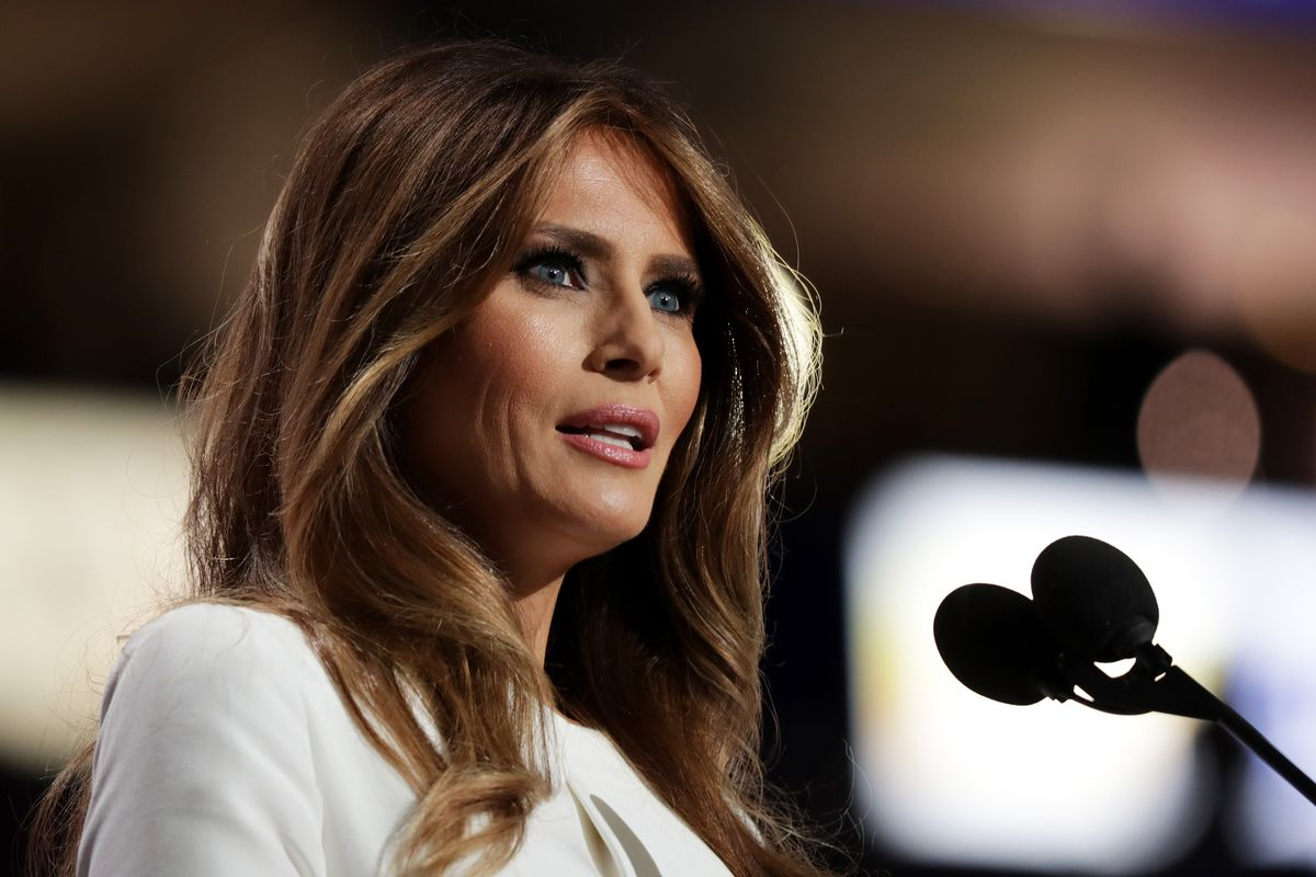 Melania Trump at the Republican National Convention: Day One