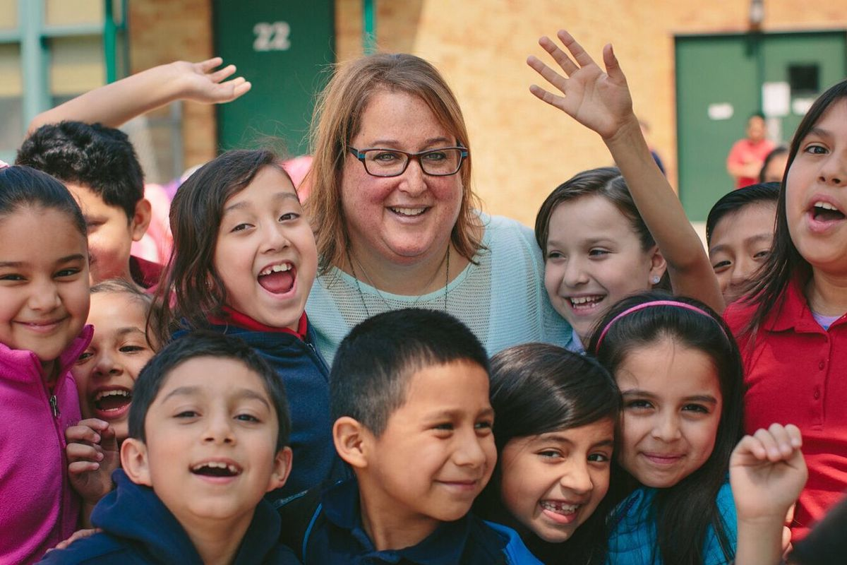 Lisa Epstein, principal of Richard H. Lee Elementary, supports personalized learning