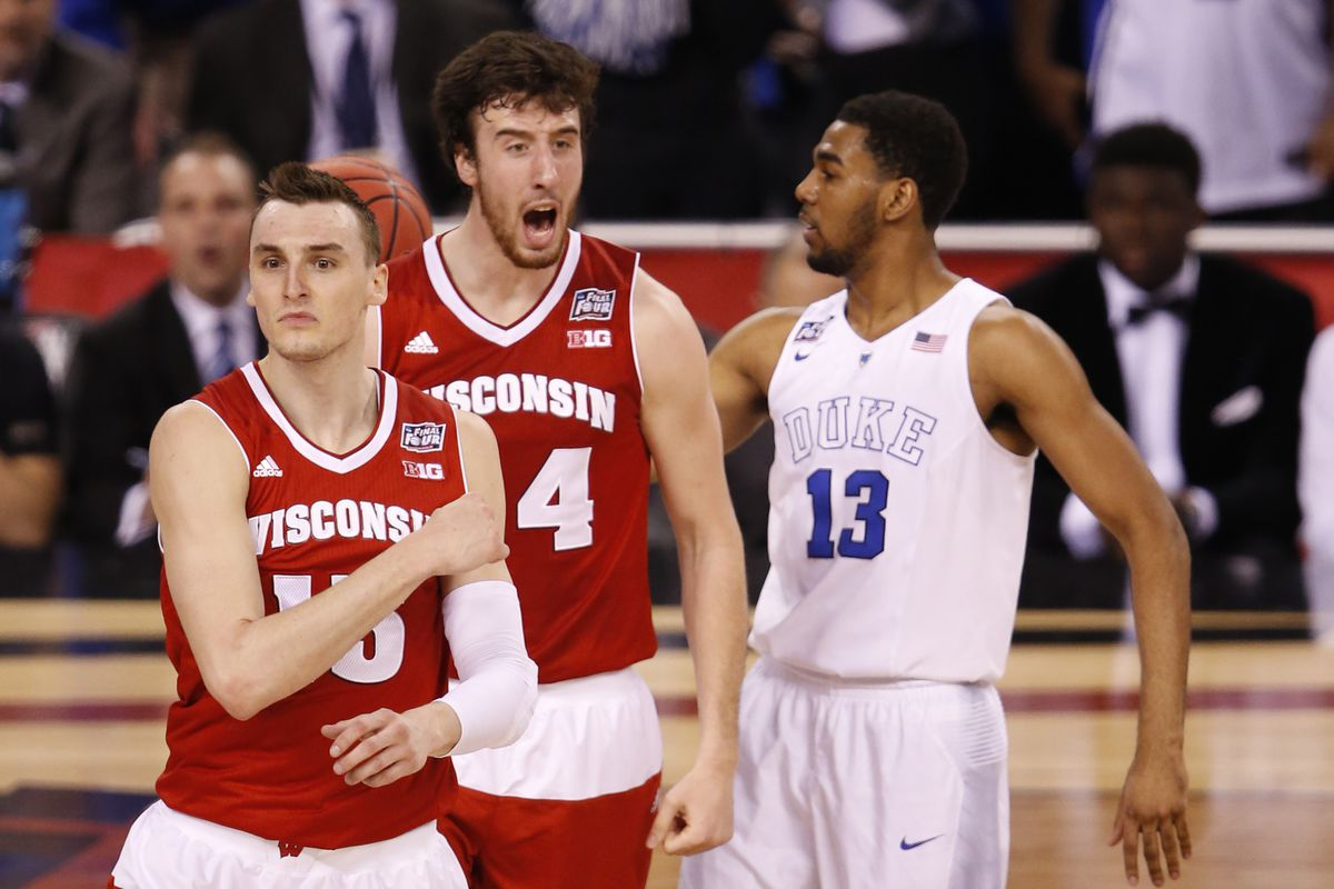 reputable site 8a8e8 dd08d NBA Draft 2015: Best team fits for former Badgers Frank ...