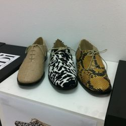 Oxfords on sale for $132 a pair