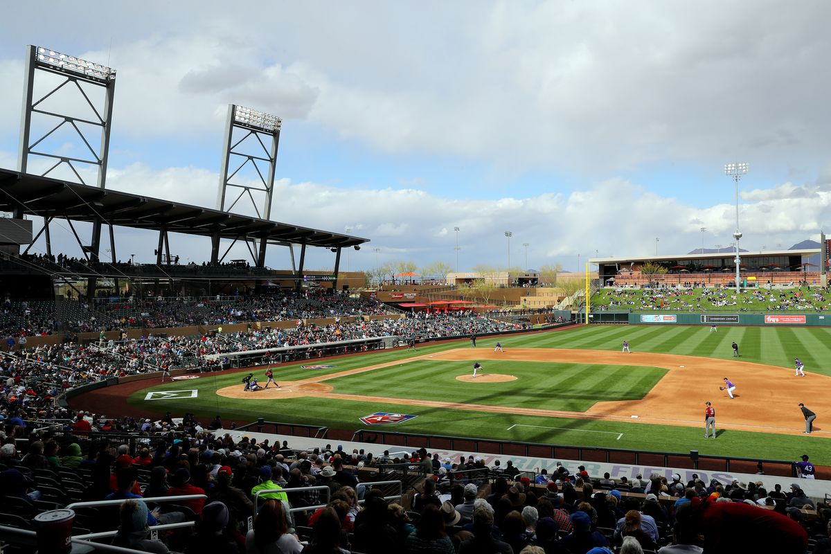 Colorado Rockies v. Arizona Diamondbacks
