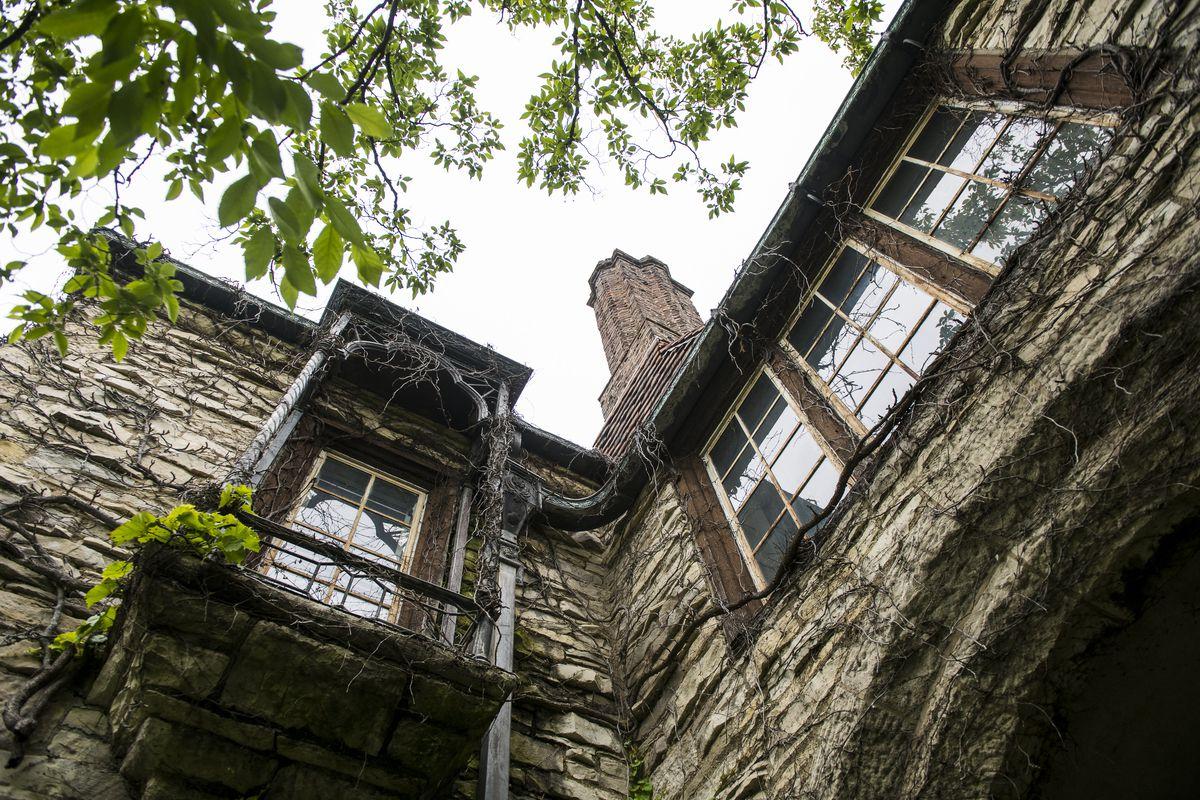 The Harley Clark mansion in Evanston.   Tyler LaRiviere/Sun-Times