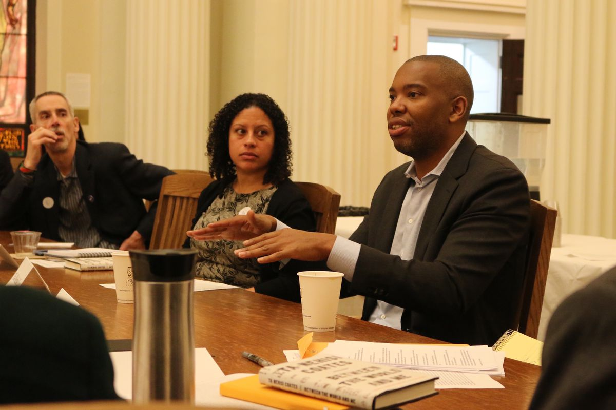 """Ta-Nehisi Coates offered a """"master class"""" for New York City school leaders on Monday."""