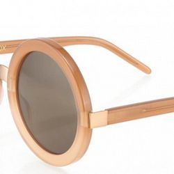 Available in five colors, this oversize circular frame from Wildfox is a perfect fit for a fuller face.