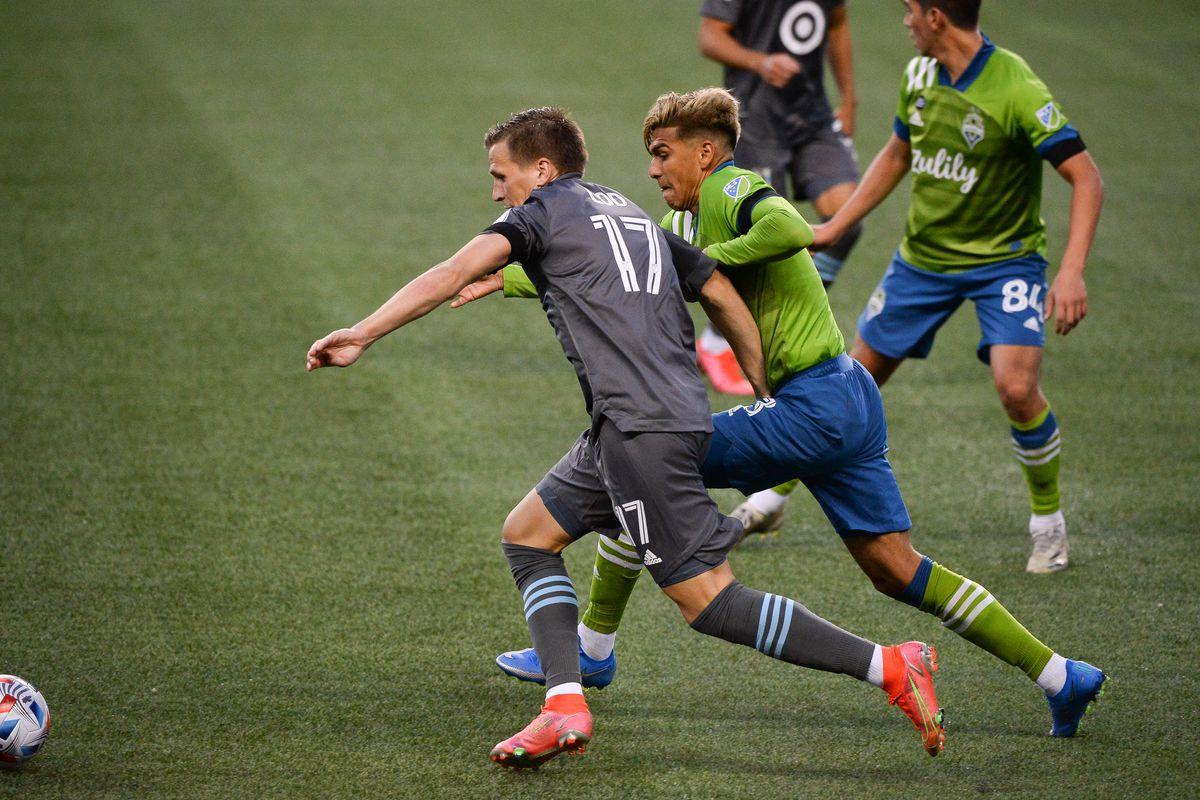 SOCCER: APR 16 MLS - Minnesota United FC at Seattle Sounders FC