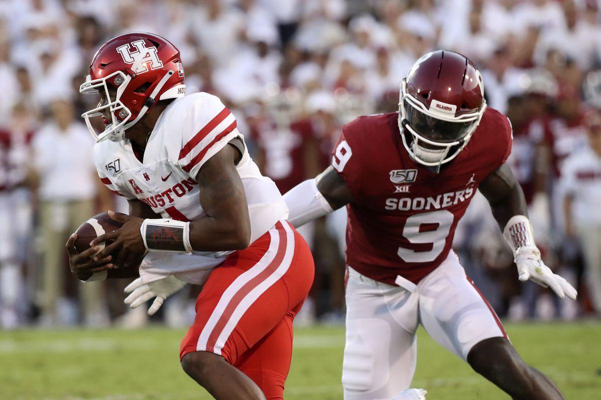 NCAA Football: Houston at Oklahoma
