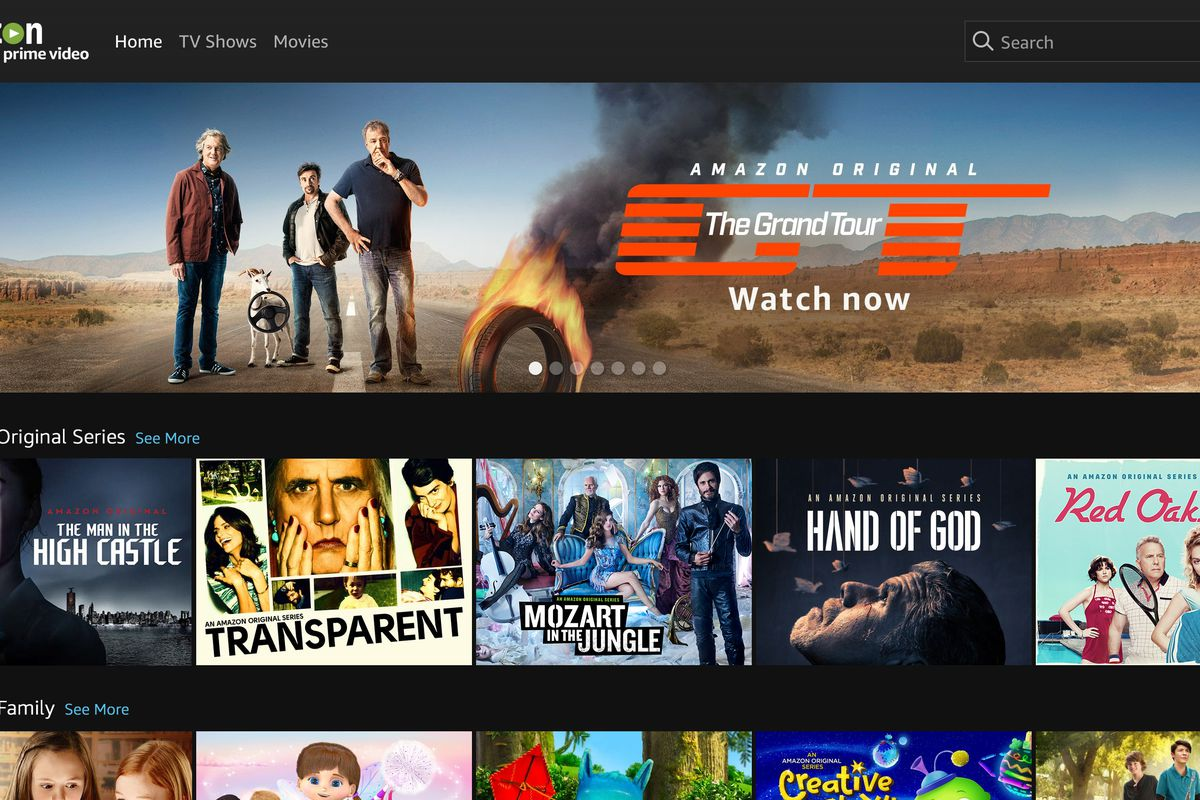 Amazon's Prime Video is now available in more than 200 countries