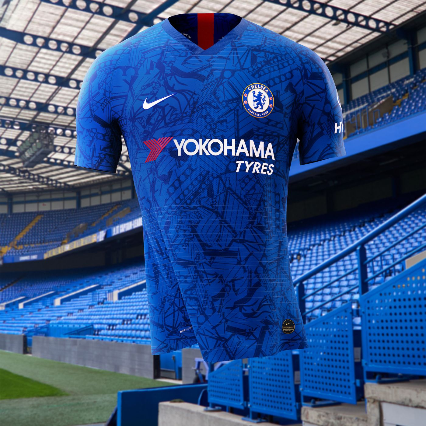 finest selection 5e34c 4624d Chelsea introduce 2019-20 home kit with Eden Hazard front ...