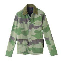 Cotton camo jacket, $110 (was $340)