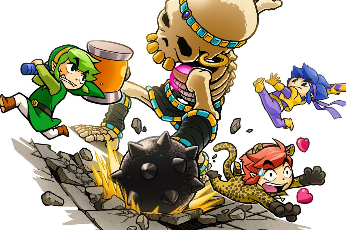The Legend Of Zelda Tri Force Heroes Is A Game Of Dress
