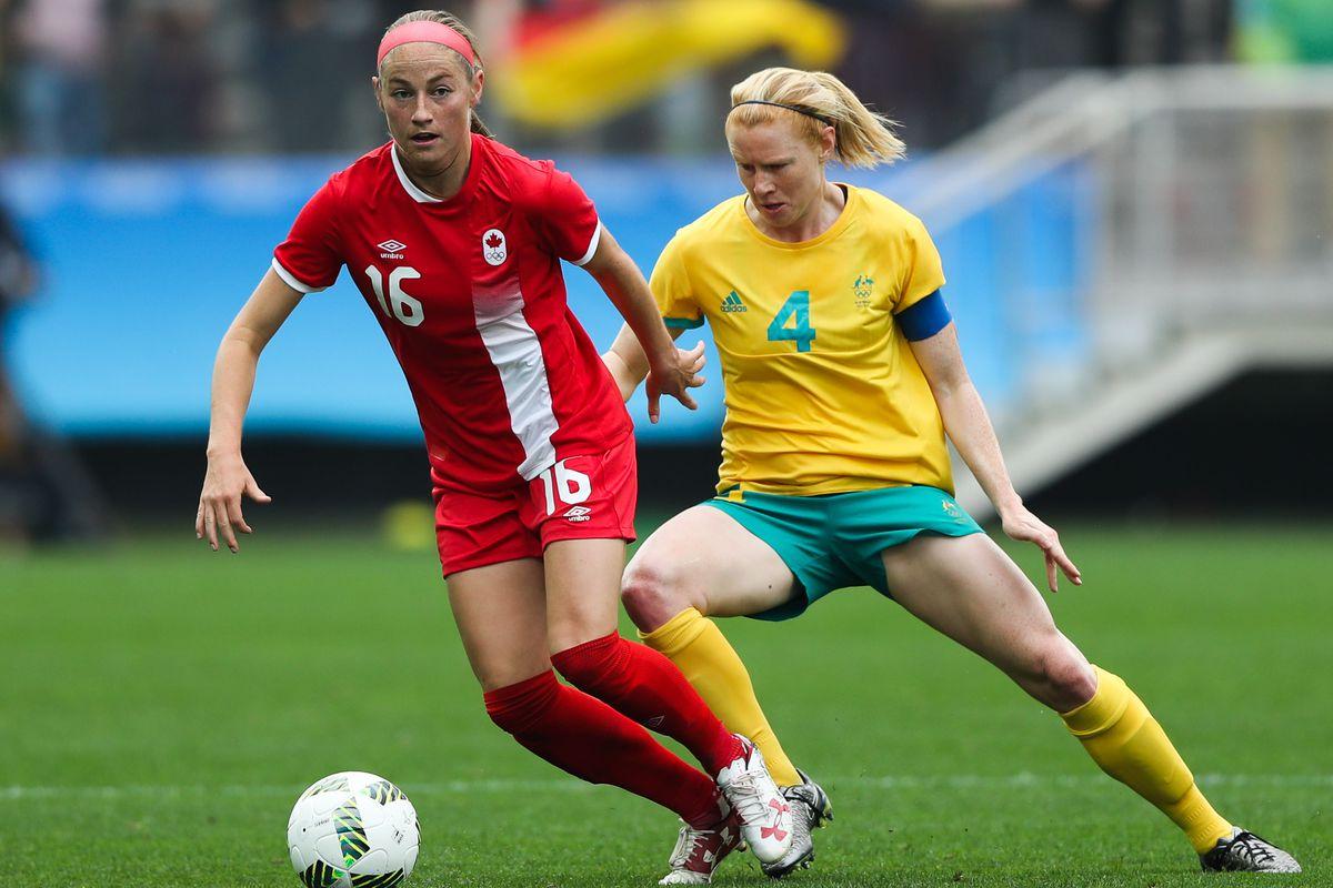 Canada v Australia: Women's Football - Olympics: Day -2