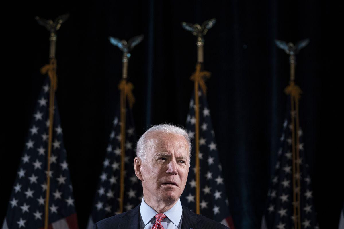 Candidate Joe Biden Delivers Remarks On Coronavirus Outbreak