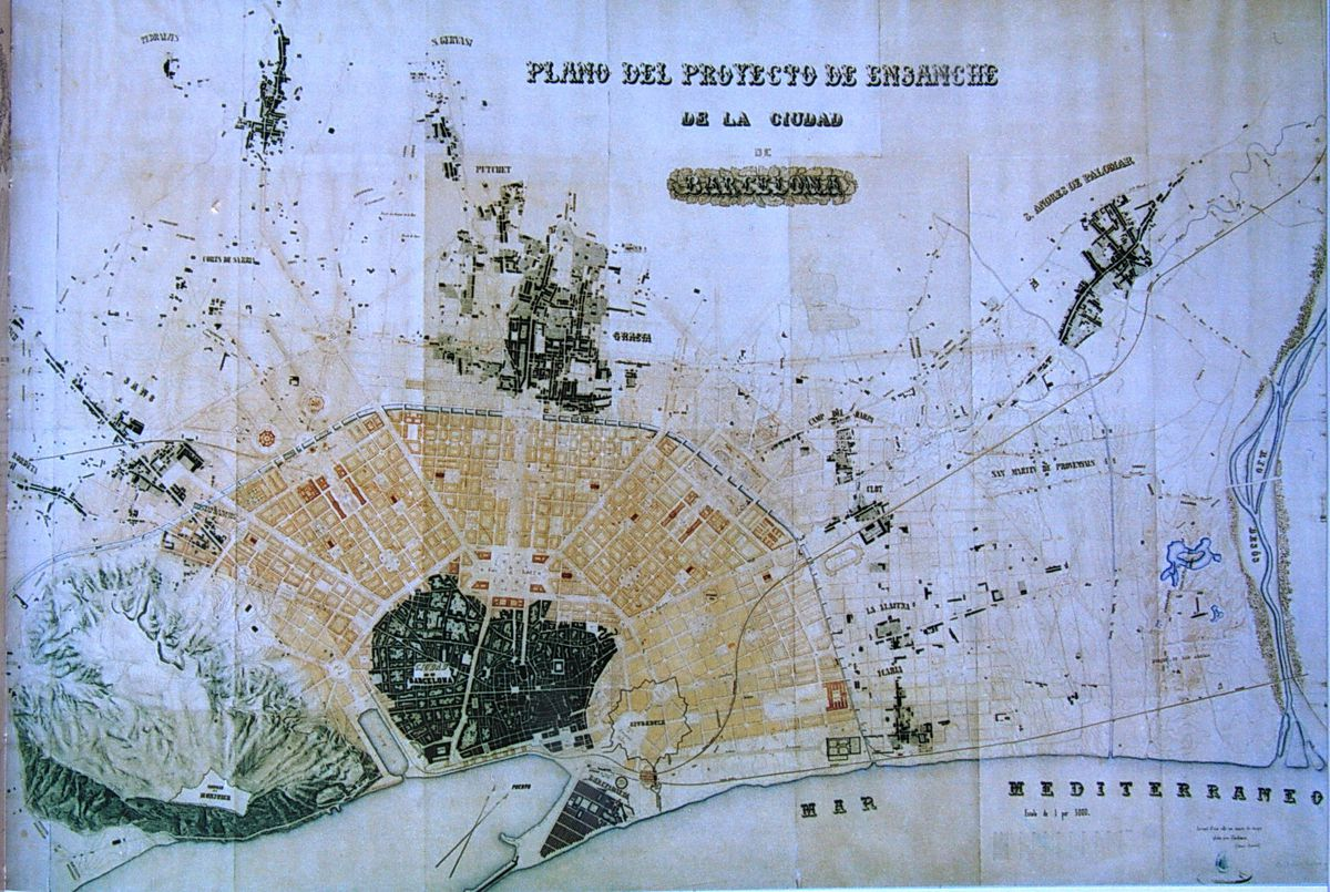 Barcelona, Spain urban planning: a remarkable history of ...