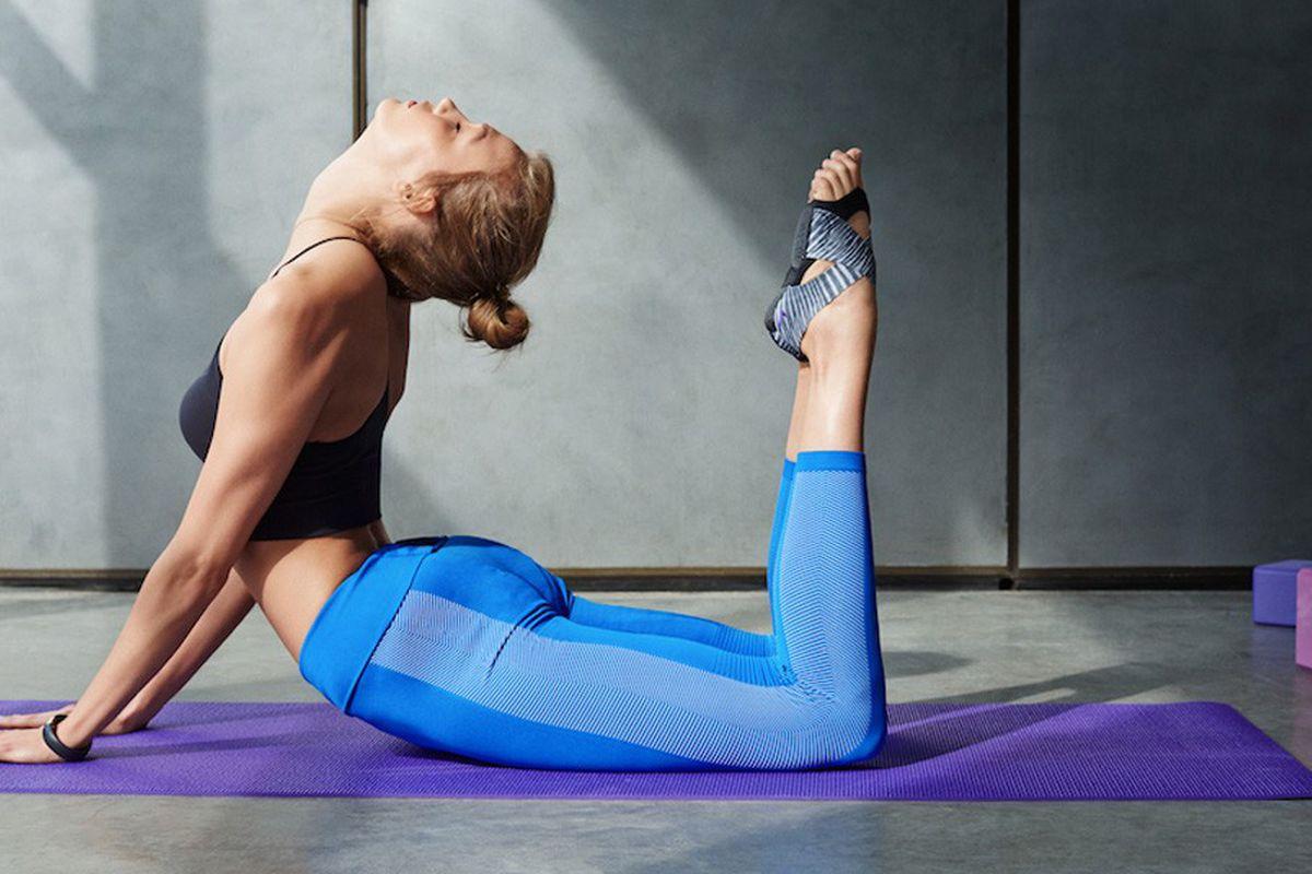 Karlie Kloss for Nike. Photo by Vanina Sorrenti and via WWD.