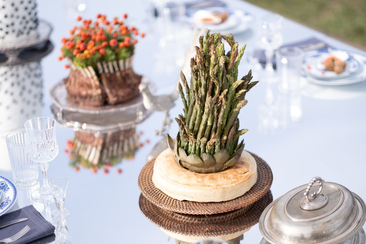 A vegetable course from the film Midsommar.