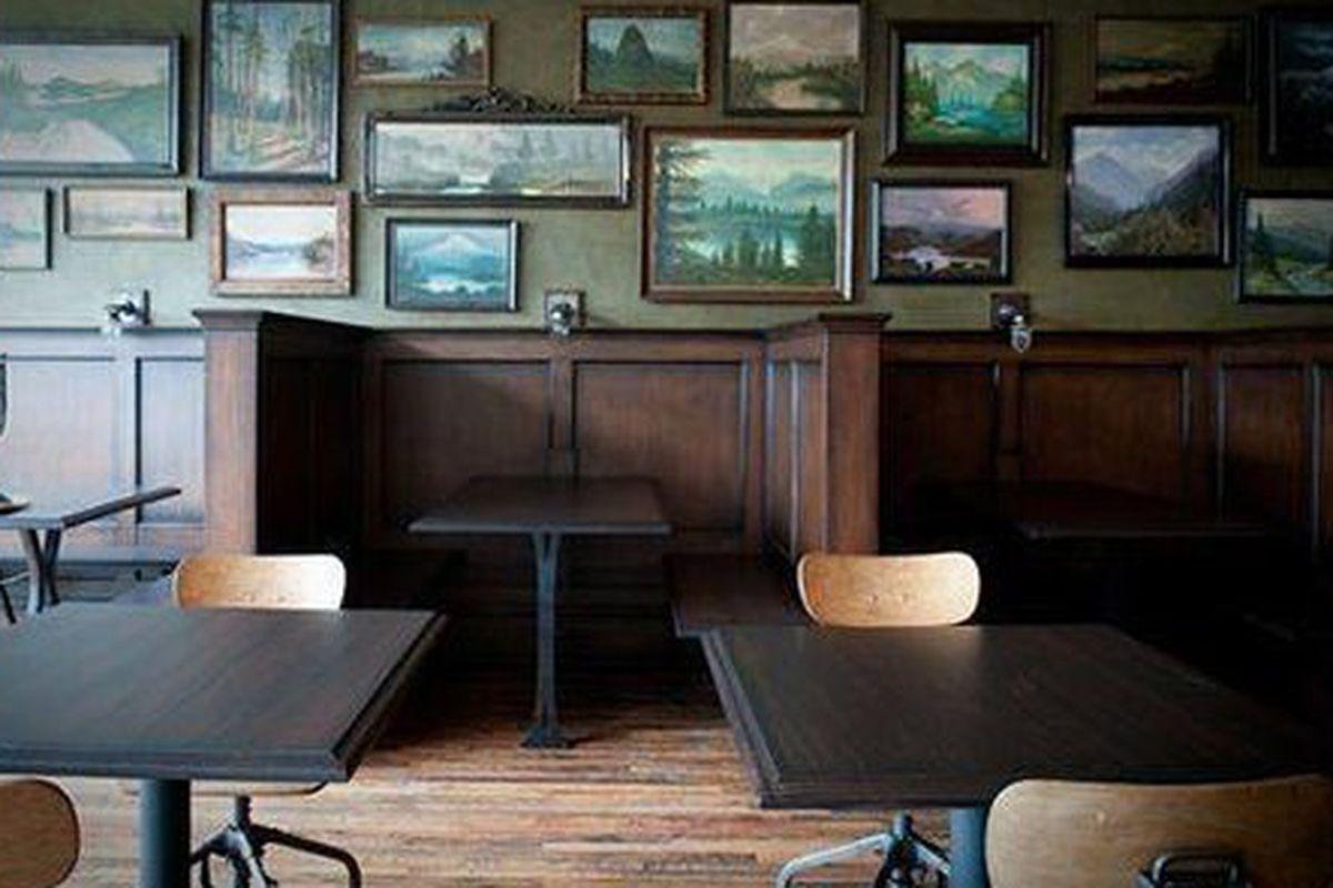 The Woodsman Tavern in Portland, Oregon.