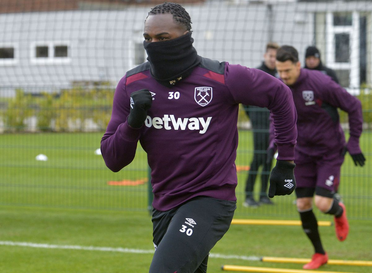 West Ham United Training and Press Conference