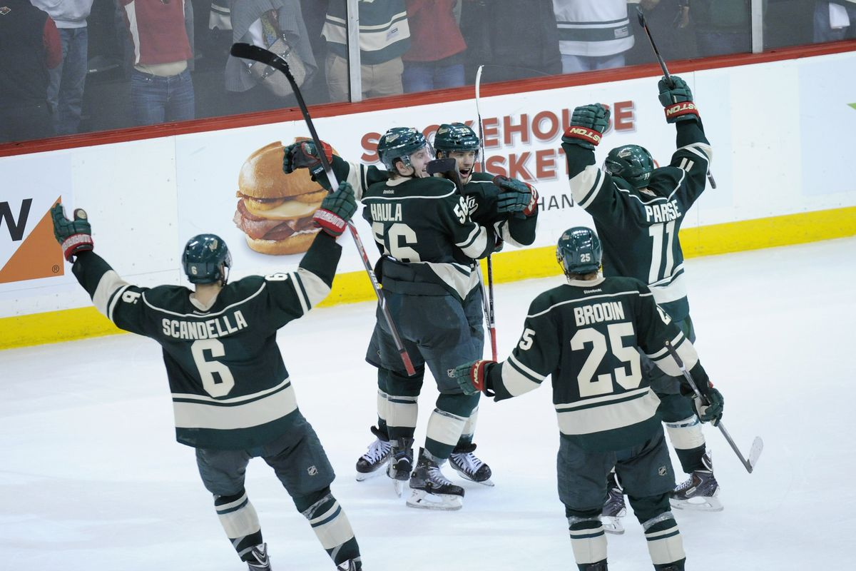 Marco Scandella and Jonas Brodin have contracted mumps. Their absence will be felt.