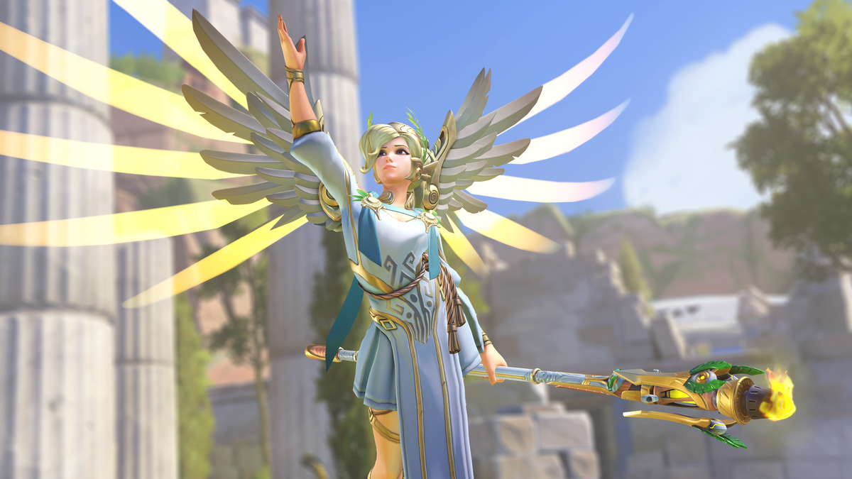 Why be a medic when you can be a goddess?